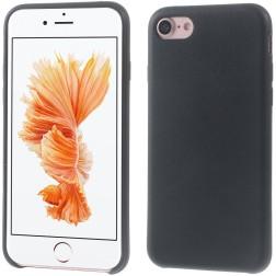 Kieto silikono (TPU) dėklas - juodas (iPhone 7 / 8)