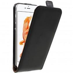 Vertikaliai atverčiamas dėklas - juodas (iPhone 7 / 8)