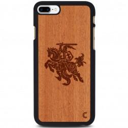 """""""Crafted Cover"""" natūralaus medžio dėklas - Vytis (iPhone 7 Plus)"""