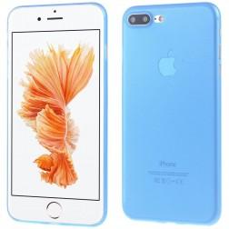 Ploniausias plastikinis dėklas - mėlynas (iPhone 7 Plus / 8 Plus)
