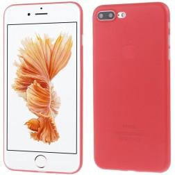 Ploniausias plastikinis dėklas - raudonas (iPhone 7 Plus / 8 Plus)