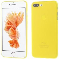 Ploniausias plastikinis dėklas - geltonas (iPhone 7 Plus / 8 Plus)