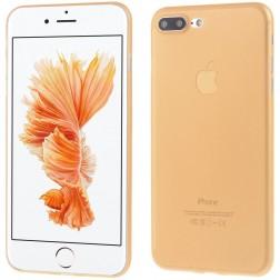 Ploniausias plastikinis dėklas - oranžinis (iPhone 7 Plus / 8 Plus)