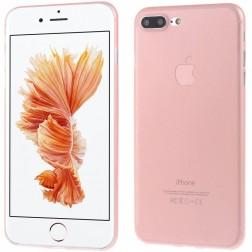 Ploniausias plastikinis dėklas - šviesiai rožinis (iPhone 7 Plus / 8 Plus)