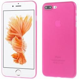Ploniausias plastikinis dėklas - tamsiai rožinis (iPhone 7 Plus / 8 Plus)