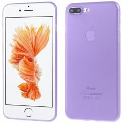 Ploniausias plastikinis dėklas - violetinis (iPhone 7 Plus / 8 Plus)