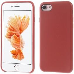 Kieto silikono (TPU) dėklas - raudonas (iPhone 7 / 8)
