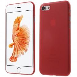 Ploniausias plastikinis dėklas - raudonas (iPhone 7 / 8)