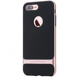 """""""Rock"""" Royce dėklas - juodas / rožinis (iPhone 7 Plus / 8 Plus)"""