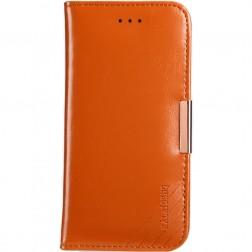 """""""Kalaideng"""" Royale atverčiamas dėklas - rudas (iPhone 7 Plus / 8 Plus)"""