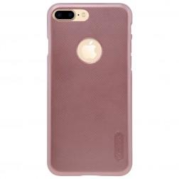 """""""Nillkin"""" Frosted Shield dėklas - rožinis + apsauginė ekrano plėvelė (iPhone 7 Plus / 8 Plus)"""