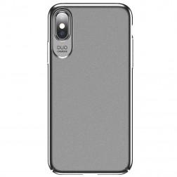 """""""USAMS"""" Jay dėklas - sidabrinis (iPhone X / Xs)"""
