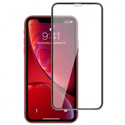 """Mocolo"" Tempered Glass apsauginis ekrano stiklas 0.26 mm - juodas (iPhone Xr / 11)"