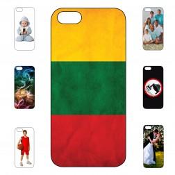 """""""Mano dėklas"""" su individualiu dizainu - kieto silikono (iPhone 5 / 5S / SE)"""