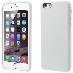 Kieto silikono (TPU) dėklas - baltas (iPhone 6 / 6s)