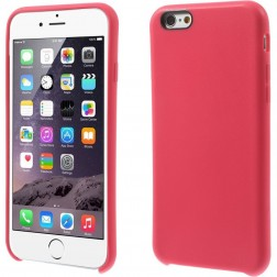 Kieto silikono (TPU) dėklas - rožinis (iPhone 6 / 6s)