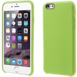 Kieto silikono (TPU) dėklas - žalias (iPhone 6 / 6s)
