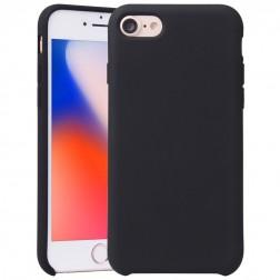 """""""Shell"""" kieto silikono (TPU) dėklas - juodas (iPhone 7 / 8)"""