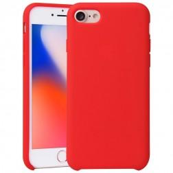 """""""Shell"""" kieto silikono (TPU) dėklas - raudonas (iPhone 7 / 8)"""