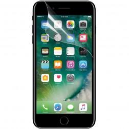 """""""ISME"""" apsauginė ekrano plėvelė (pilnai dengianti) - skaidri (iPhone 7 / 8)"""