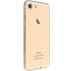 """""""Devia"""" Naked dėklas - skaidrus + apsauginis ekrano stiklas (iPhone 7 / 8)"""