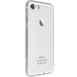 """""""Devia"""" Naked skaidrus dėklas - pilkas + apsauginis ekrano stiklas (iPhone 7 / 8)"""