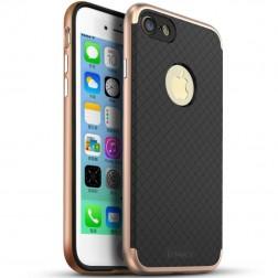 """""""IPAKY"""" kieto silikono (TPU) dėklas - juodas / rožinis (iPhone 7 / 8)"""