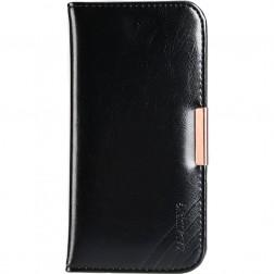 """""""Kalaideng"""" Royale atverčiamas dėklas - juodas (iPhone 7 / 8)"""