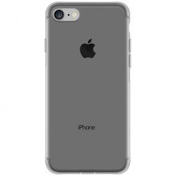 Ploniausias TPU skaidrus dėklas - pilkas (iPhone 7 / 8)