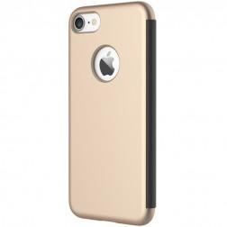 """""""Rock"""" Dr. V atverčiamas dėklas - auksinis (iPhone 7)"""
