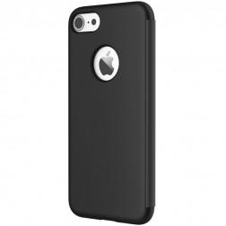 """""""Rock"""" Dr. V atverčiamas dėklas - juodas (iPhone 7)"""
