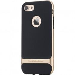 """""""Rock"""" Royce dėklas - juodas / auksinis (iPhone 7 / 8)"""