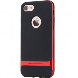 """""""Rock"""" Royce dėklas - juodas / raudonas (iPhone 7 / 8)"""