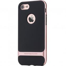 """""""Rock"""" Royce dėklas - juodas / rožinis (iPhone 7 / 8)"""