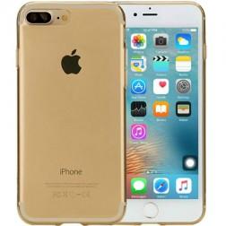 Ploniausias TPU skaidrus dėklas - auksinis (iPhone 7 Plus / 8 Plus)