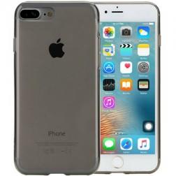 Ploniausias TPU skaidrus dėklas - pilkas (iPhone 7 Plus / 8 Plus)