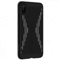 """""""JOYROOM"""" Storm dėklas - juodas (iPhone X)"""