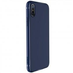 """JOYROOM"" Screen kieto silikono (TPU) dėklas - mėlynas (iPhone X / Xs)"