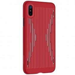 """""""JOYROOM"""" Storm dėklas - raudonas (iPhone X / Xs)"""