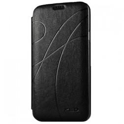 """""""Kalaideng"""" Oscar atverčiamas dėklas - juodas (Galaxy S5 / S5 Neo)"""