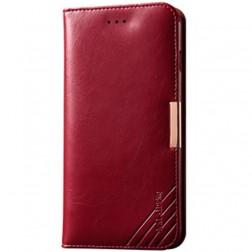 """""""Kalaideng"""" Royale atverčiamas dėklas - raudonas (iPhone 6 Plus / 6s Plus)"""