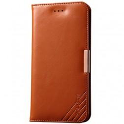 """""""Kalaideng"""" Royale atverčiamas dėklas - rudas (iPhone 6 Plus / 6s Plus)"""