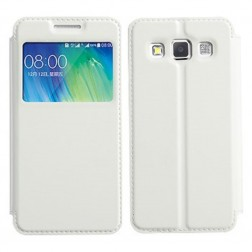 """""""Kalaideng"""" Sun atverčiamas dėklas - baltas (Galaxy A3)"""