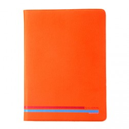 """""""Kalaideng"""" Versal atverčiamas dėklas - oranžinis (10.1"""" planšetėms)"""