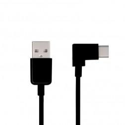 Kampinis USB Type-C laidas - juodas (3 m.)