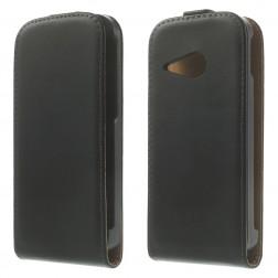 Vertikaliai atverčiamas dėklas - juodas (One Mini 2)
