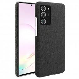 """""""Fashion"""" kieto silikono (TPU) dėklas - juodas (Galaxy Note 20)"""