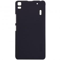 """""""Nillkin"""" Frosted Shield dėklas - juodas + apsauginė ekrano plėvelė (K3 Note)"""