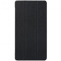 Atverčiamas dėklas - juodas (Tab4 7 Essential)