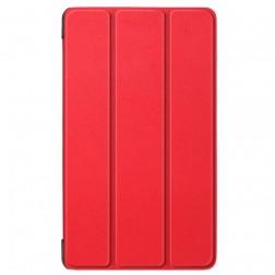 Atverčiamas dėklas - raudonas (Tab E7)
